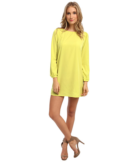 Brigitte Bailey - Skyler Shift Dress (Chartreuse) Women's Dress