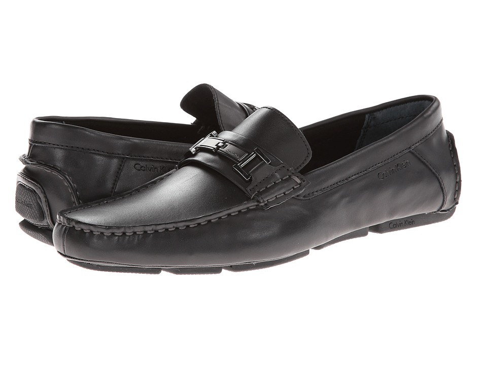 Calvin Klein - Magnus (Black Leather) Men's Shoes