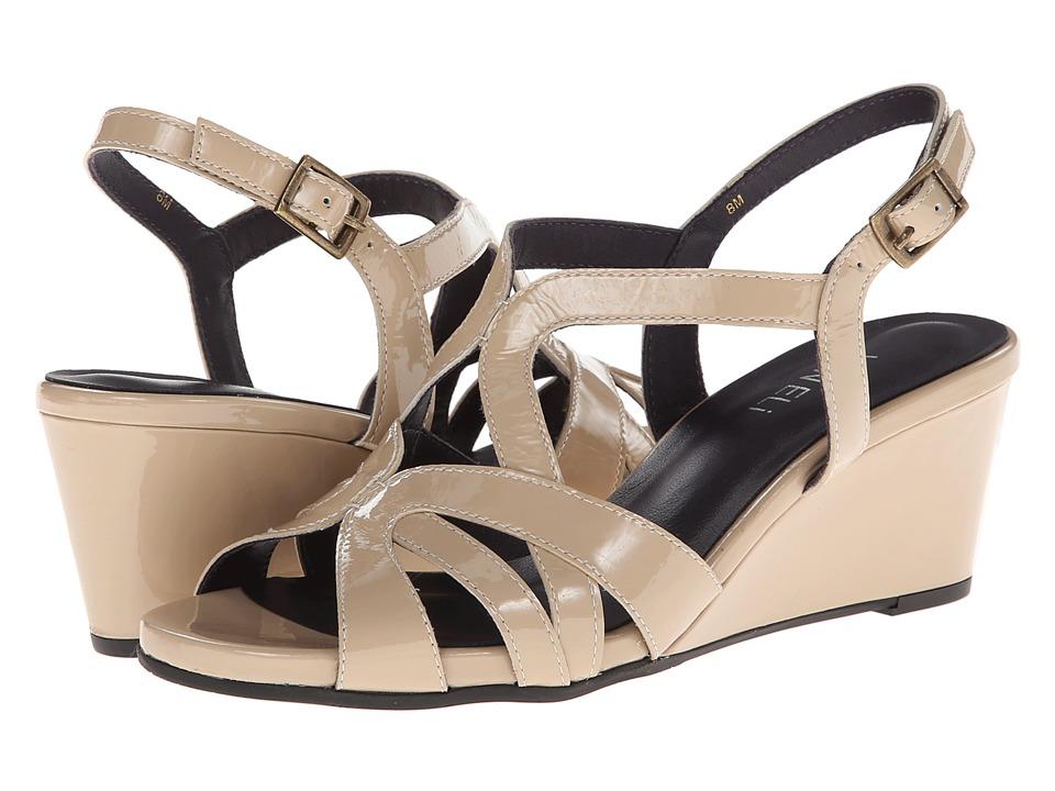 Vaneli - Miriam Ecru (Ecru Mag Patent) Women's Shoes