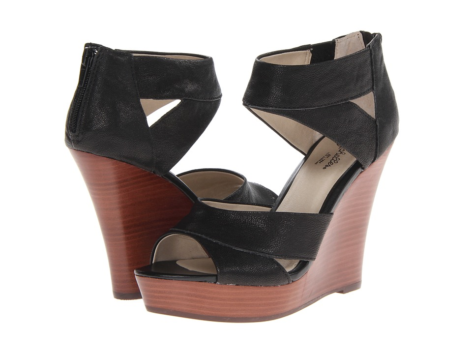 Seychelles - Give It Back (Black) Women's Wedge Shoes