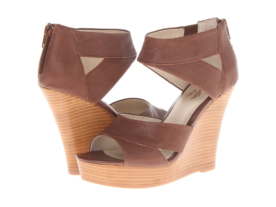 Seychelles - Give It Back (Whiskey) Women's Wedge Shoes