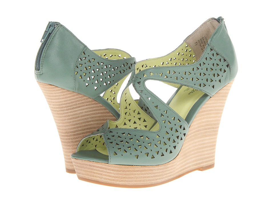 Seychelles - Caught My Eye (Seafoam) Women's Wedge Shoes
