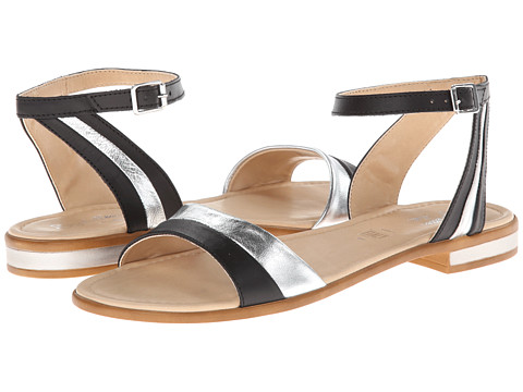 Seychelles - Won't Stop (Black/Silver) Women's Sandals