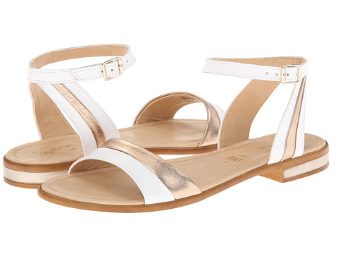Seychelles - Won't Stop (White/Gold) Women's Sandals