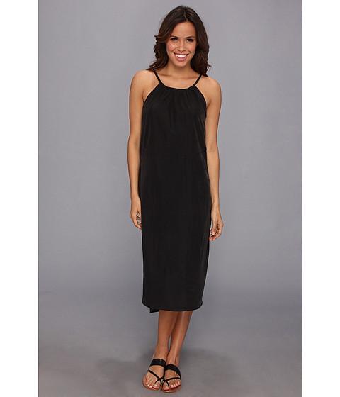 Calvin Klein Jeans - Cross Back Halter Dress (Black) Women's Dress