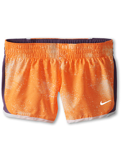 SALE! $15.99 - Save $9 on Nike Kids 3.5 Dash Graphic Girls` Running Short (Little Kids Big Kids) (Bright Citrus White Reflective Silver) Apparel - 36.04% OFF $25.00