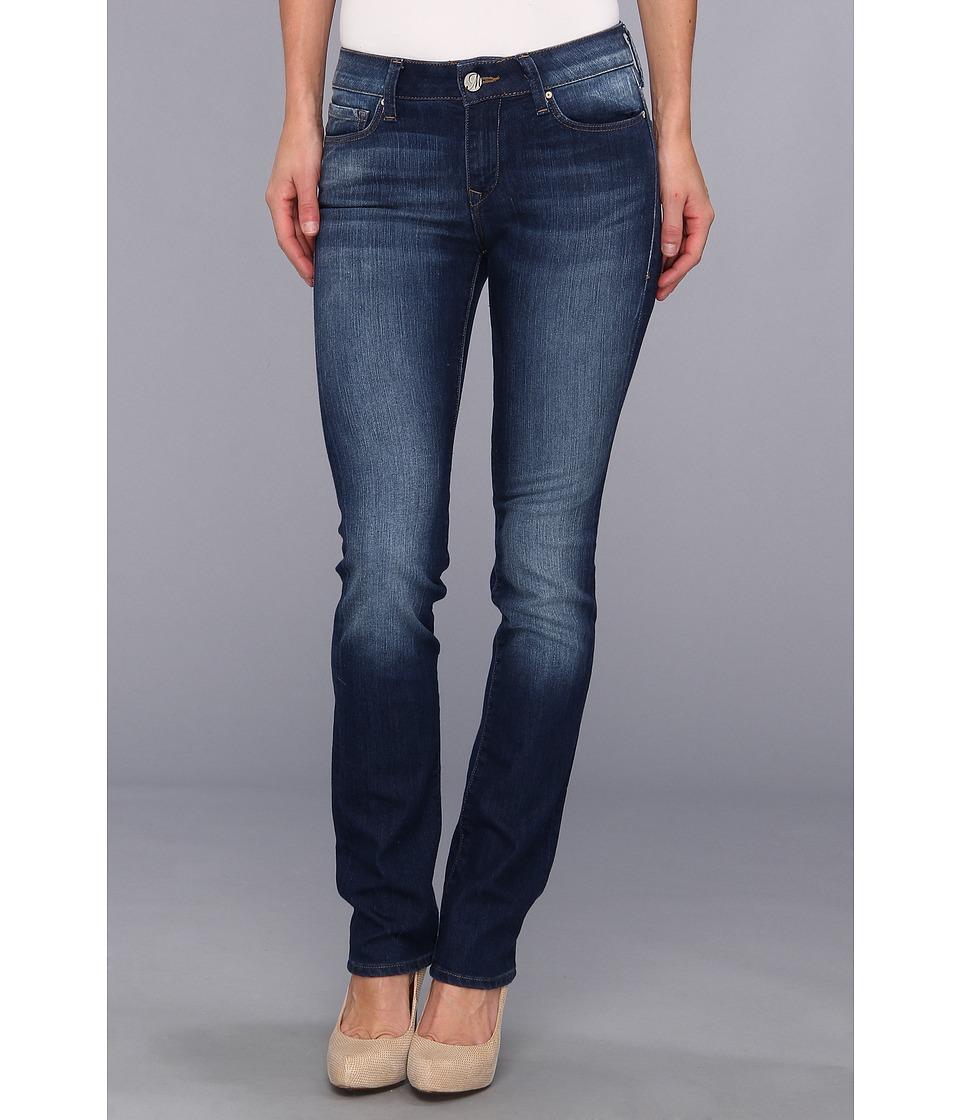 Mavi Jeans - Kerry Mid-Rise Straight Leg in Indigo Nolita (Indigo Nolita) Women's Jeans