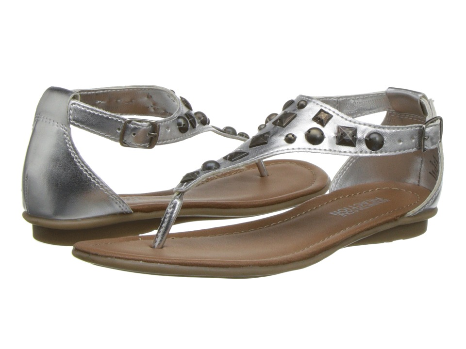 Kenneth Cole Reaction Kids Keep Sweep Girls Shoes (Silver)