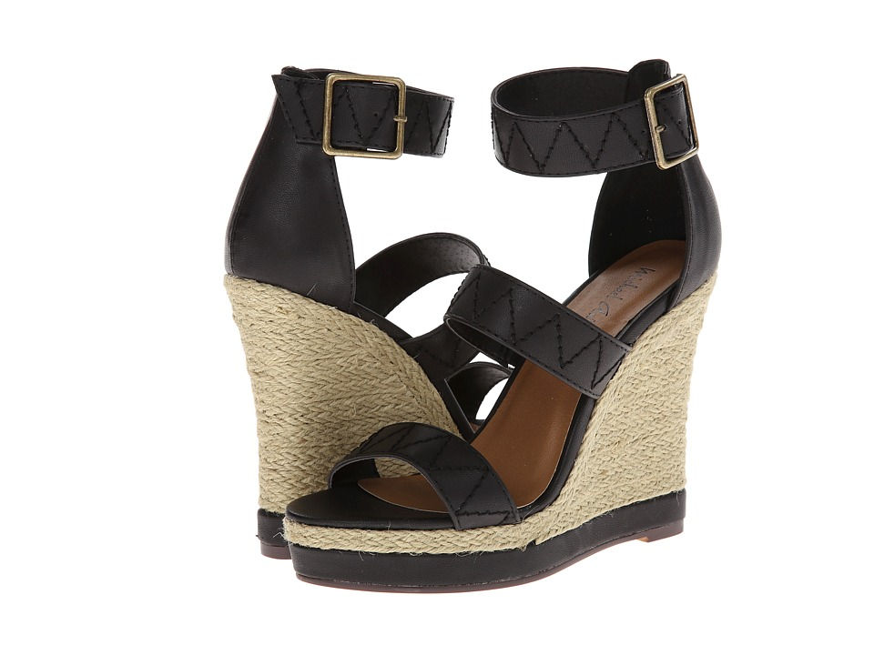Michael Antonio - Garth (Black) Women's Wedge Shoes