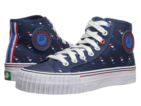 PF Flyers - Center Hi (Navy) Lace up casual Shoes