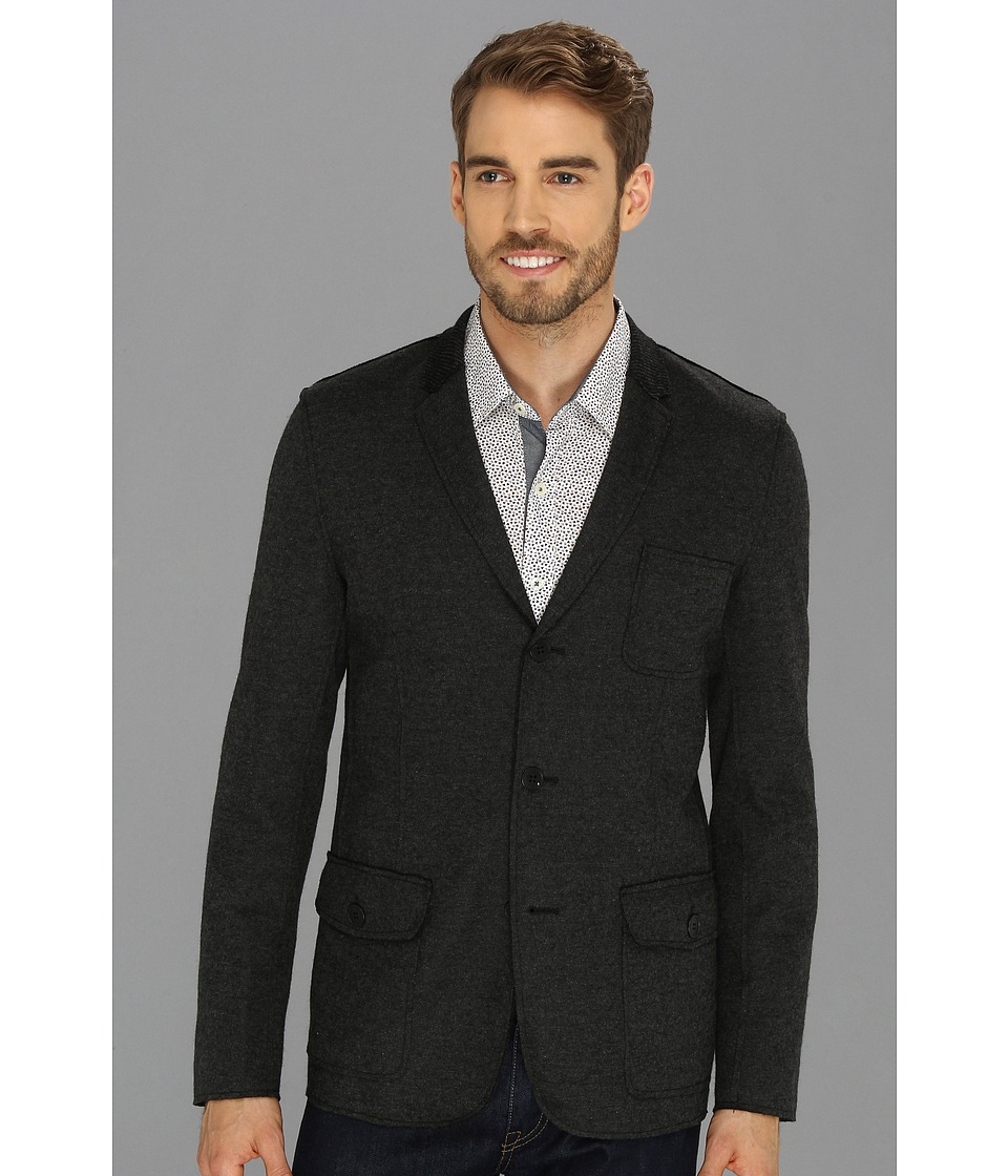 7 Diamonds - Deconstructed Blazer (Charcoal) Men's Jacket