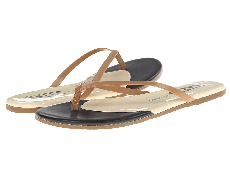 TKEES - Contours (Dark Horse) Women's Sandals