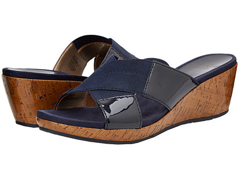 Circa Joan & David - Petria (Navy/Navy) Women's Slide Shoes