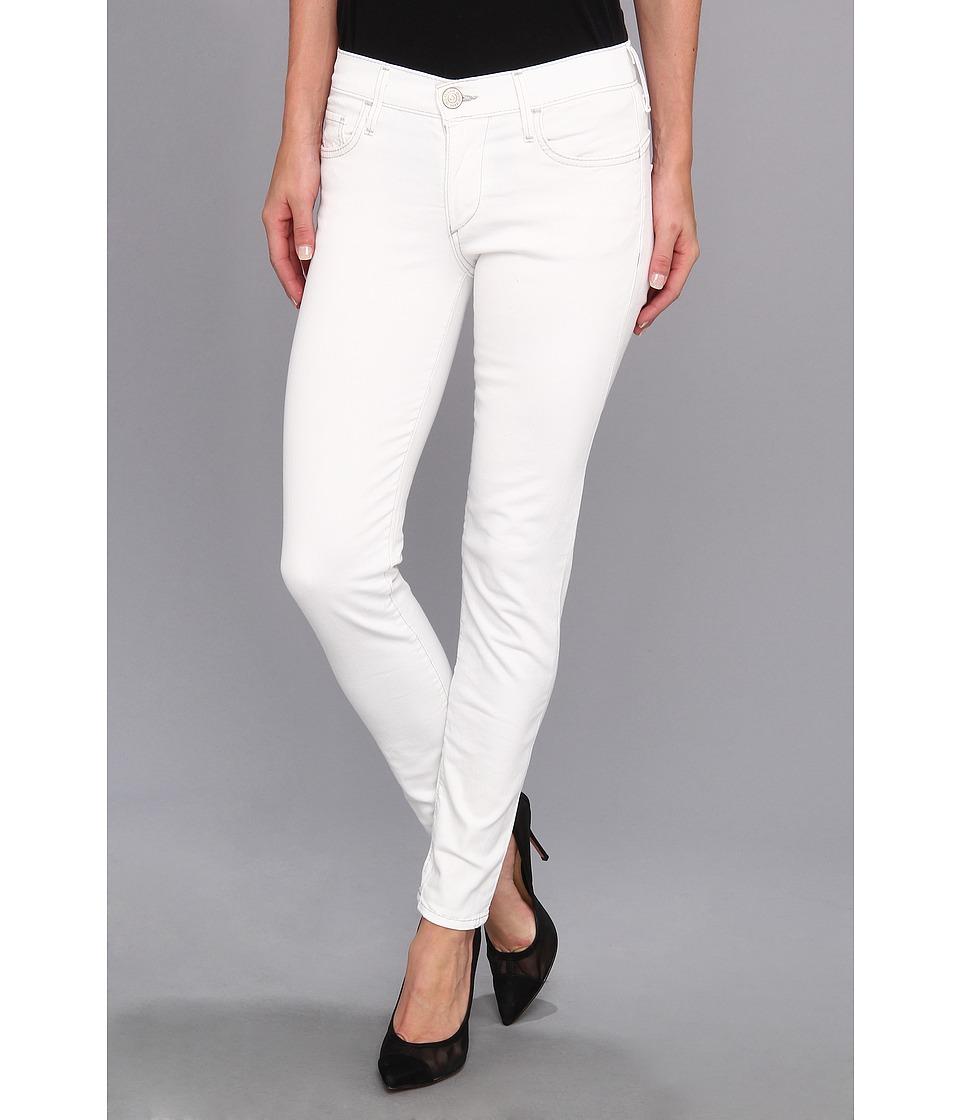 True Religion - Chrissy Mid-Rise Super Skinny Still Valley (White) Women's Jeans