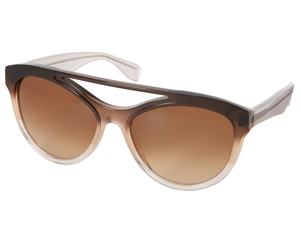 Vera Wang - Anelle (Brown Gradient) Fashion Sunglasses