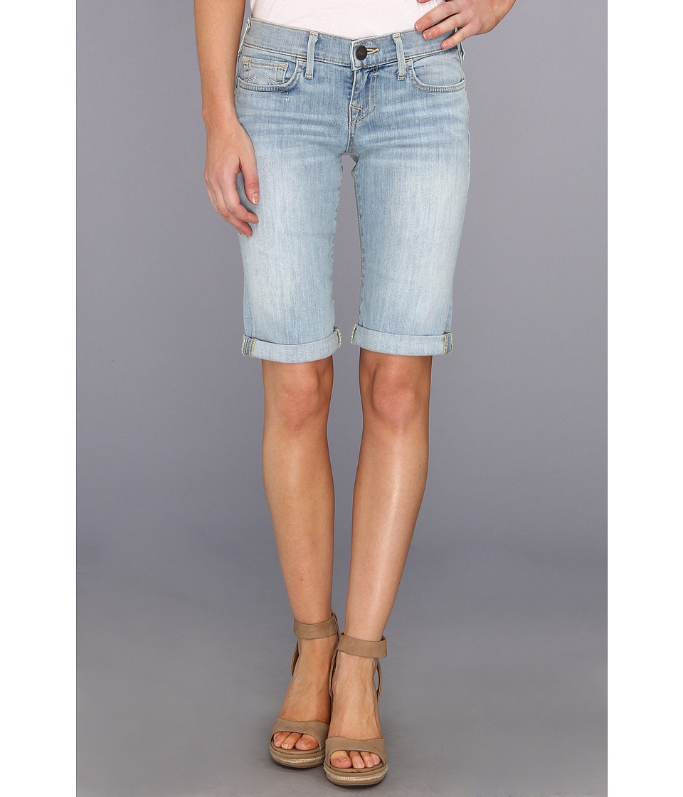 True Religion - Savannah Cuffed Short in Breezy Meadow (Breezy Meadow) Women