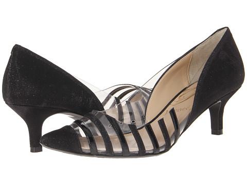 J. Renee Moira (Black) Women's Toe Open Shoes