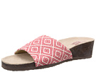 MUK LUKS Lea Slide Wedge
