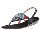 MUK LUKS Maya Beaded Sandal (Black)