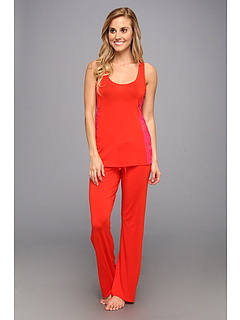 SALE! $39.99 - Save $48 on Josie Karina Solid Jersey Tank PJ (Red) Apparel - 54.56% OFF $88.00
