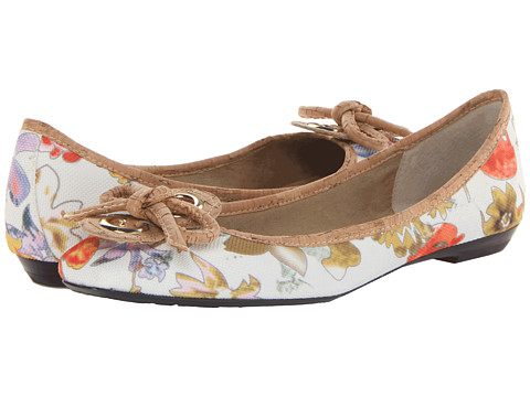 J. Renee - Edie (Floral) Women's Dress Flat Shoes