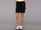 Missey 18 in. Skort with Gold Zippers