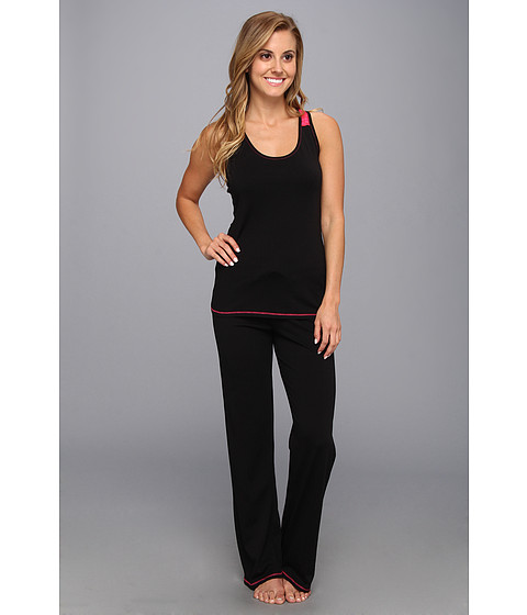 Josie - Spicy Essentials Tank PJ (Black) Women's Pajama Sets