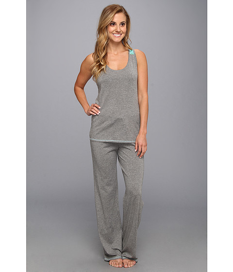 Josie - Spicy Essentials Tank PJ (Heather Grey) Women's Pajama Sets