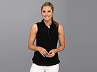 Jamie Sadock Leann Feather Weight Sleeveless Sweater Top (Black)
