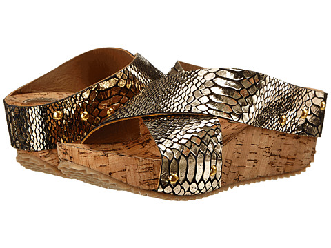 J. Renee - Berm (Gold Snake) Women's Shoes