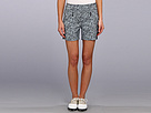 Skinnylicious 15 in. Short with Control Top Mesh Panel