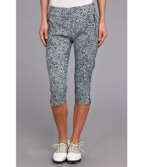 Jamie Sadock - Skinnylicious 28.5 in. Pedal Pusher with Control Top Mesh Panel (Glacier Ocelot Print) Women