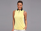 Jamie Sadock Lizzy Sleeveless Top (Lemon Souffle)