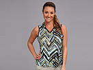 Jamie Sadock Samantha Crunchie Sleeveless Top (Gossamer)