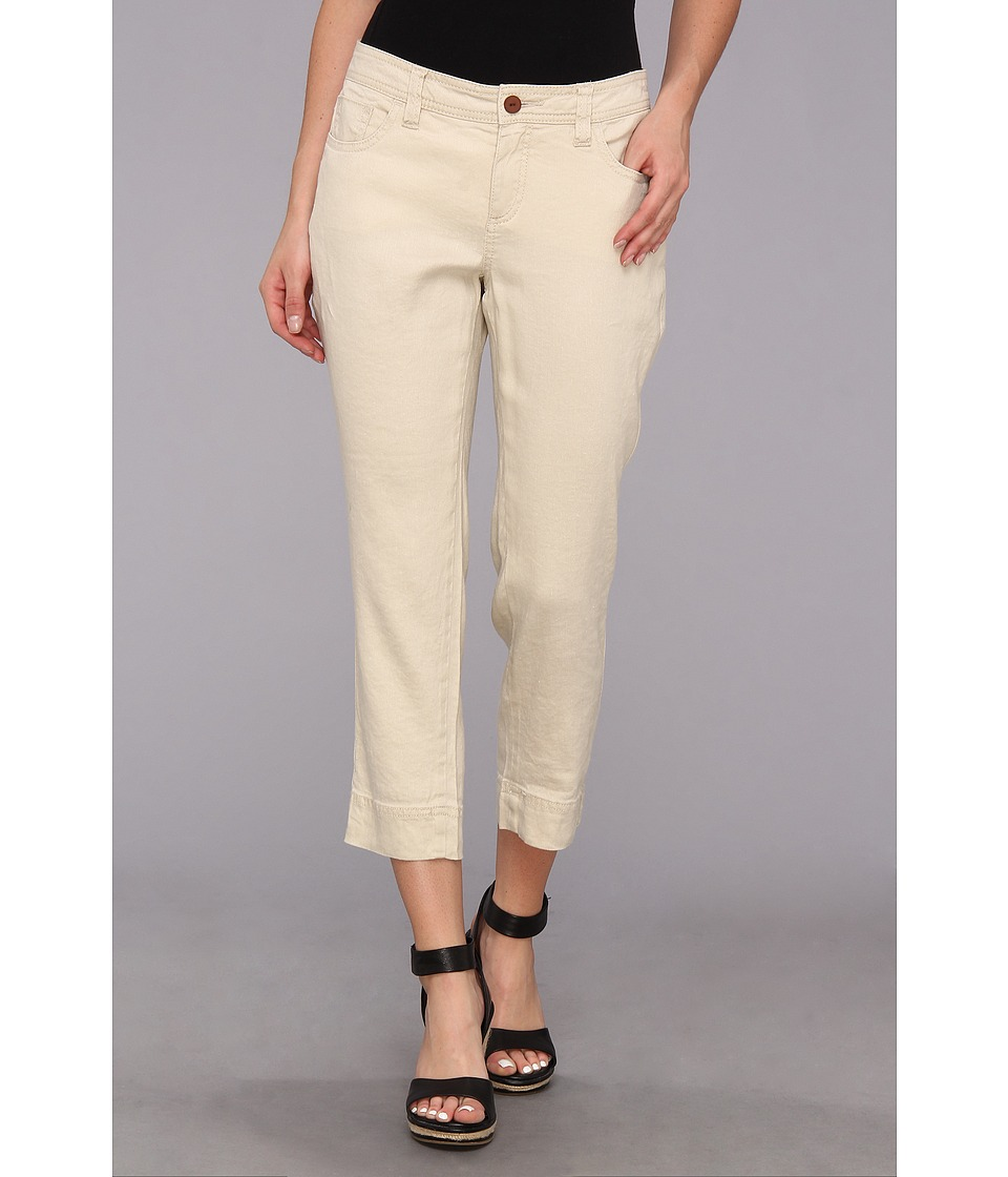 Christopher Blue - Chloe Crop Monaco Linen (Hourglass) Women's Casual Pants