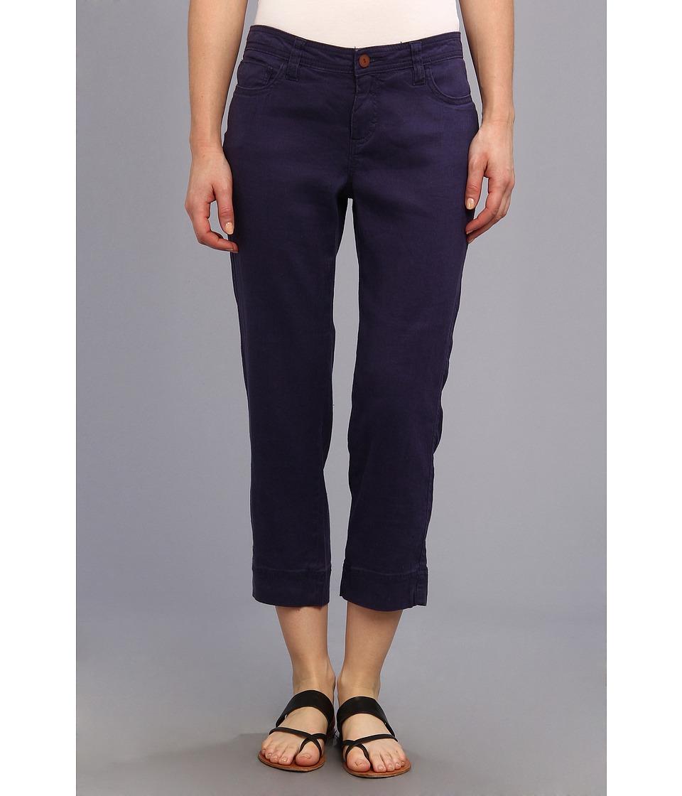 Christopher Blue - Chloe Crop Monaco Linen (Oxford Blue) Women's Casual Pants