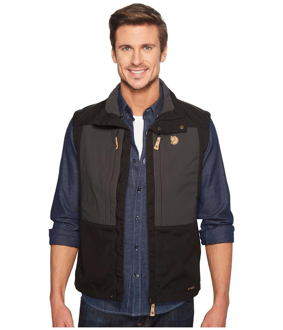 Fjallraven - Keb Vest (Black) Men's Coat