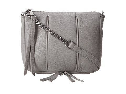 Kelsi Dagger Halsey Crossbody (Grey) Cross Body Handbags