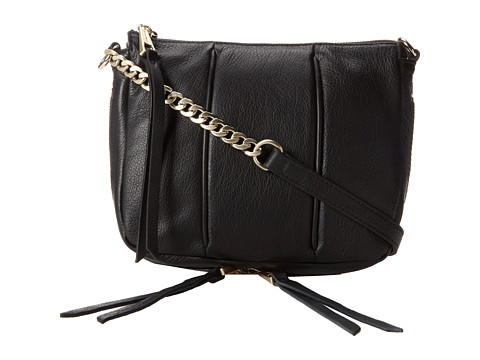 Kelsi Dagger Halsey Crossbody (Black) Cross Body Handbags