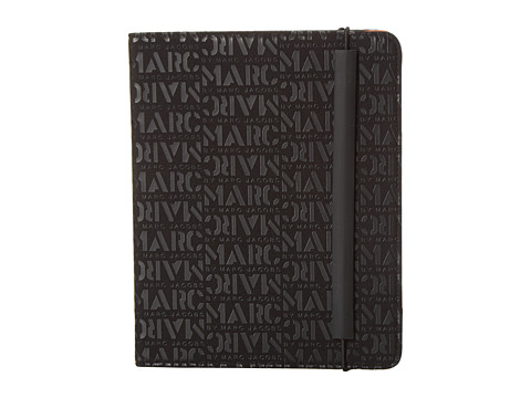 Marc by Marc Jacobs - Logomania Neoprene Tablet Book (Black) Computer Bags