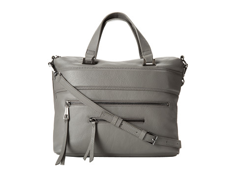Kelsi Dagger Halsey Satchel (Grey) Satchel Handbags