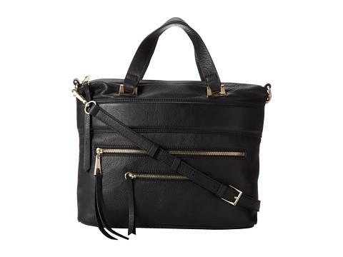 Kelsi Dagger Halsey Satchel (Black) Satchel Handbags