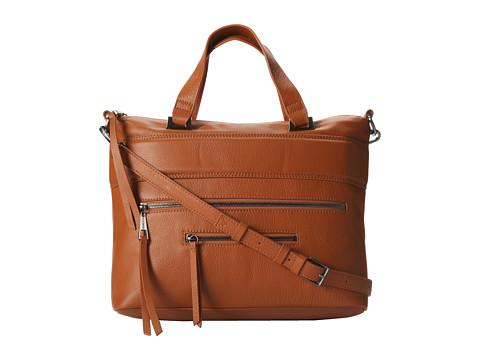 Kelsi Dagger Halsey Satchel (Terracotta) Satchel Handbags