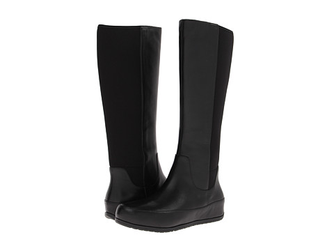 FitFlop - Due Boot Tall/Stretch (Black) Women's Boots