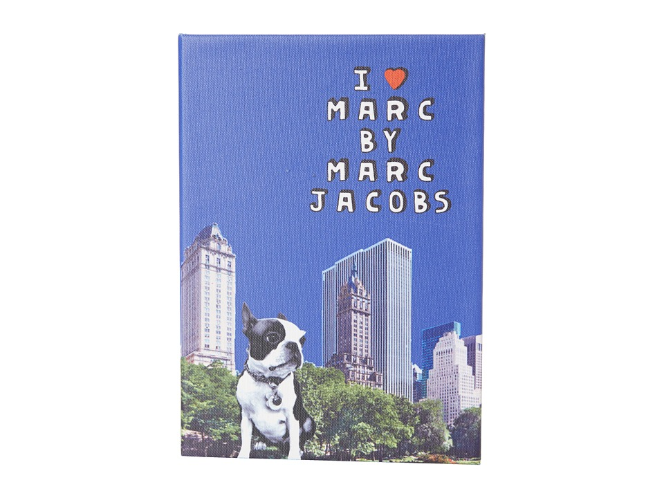 Marc by Marc Jacobs - Jet Set Pets Notebook Olive Notebook (Brilliant Blue Multi) Computer Bags