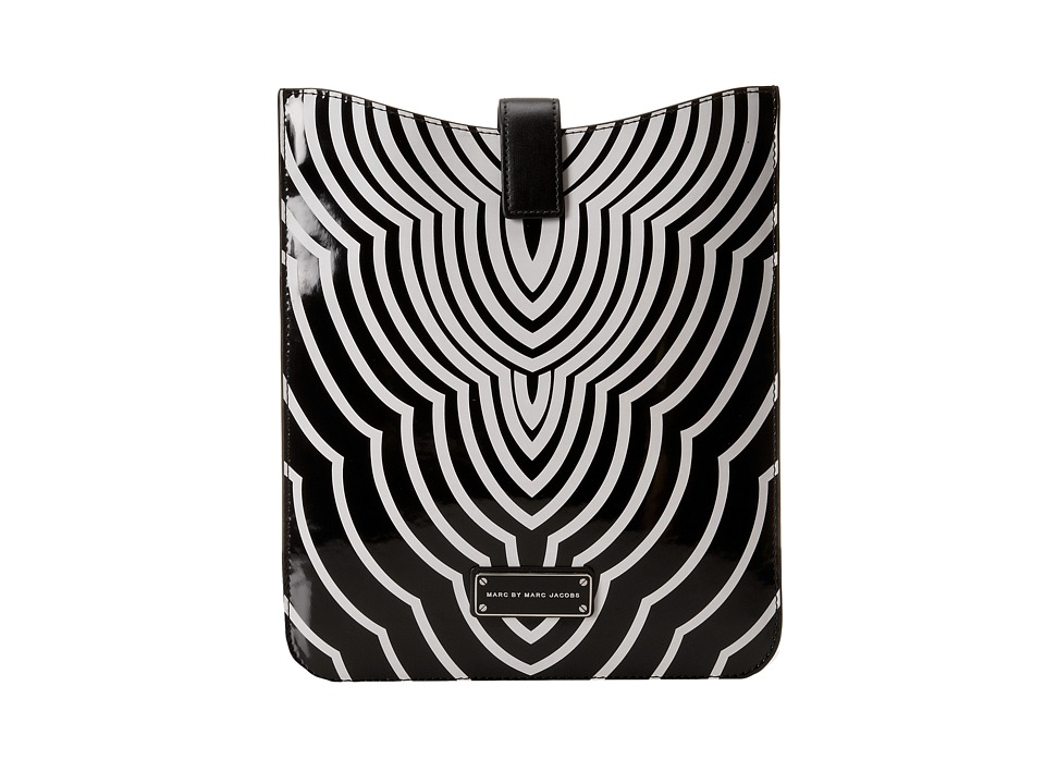 Marc by Marc Jacobs - Techno Radiowave Tablet Sleeve (Black Multi) Computer Bags