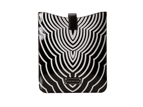 Marc by Marc Jacobs Techno Radiowave Tablet Sleeve (Black Multi) Computer Bags