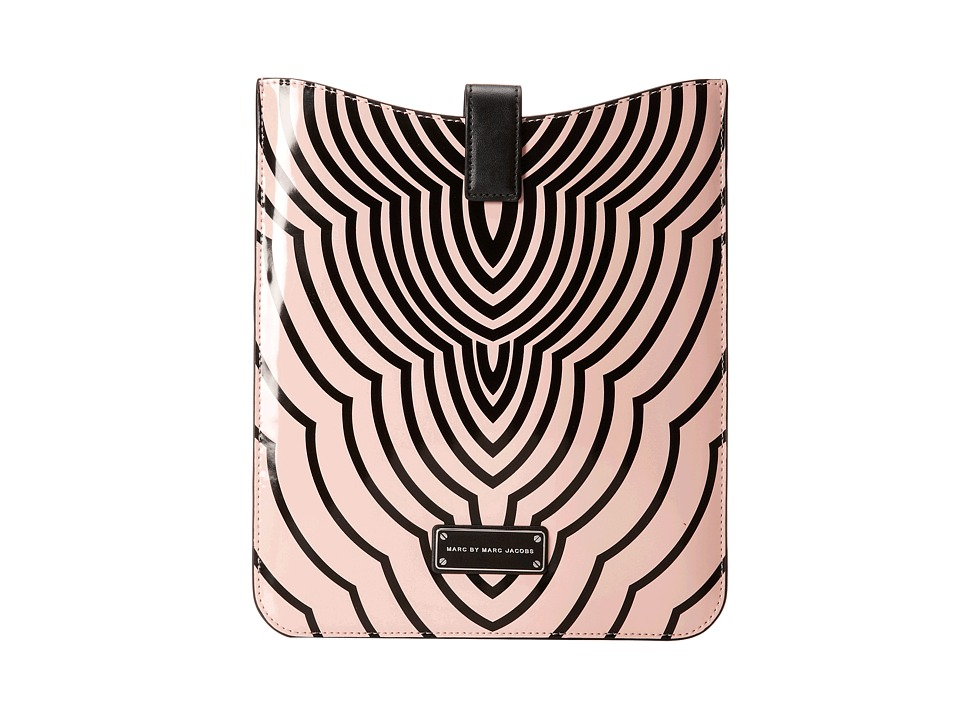 Marc by Marc Jacobs - Techno Radiowave Tablet Sleeve (Adobe Pink Multi) Computer Bags