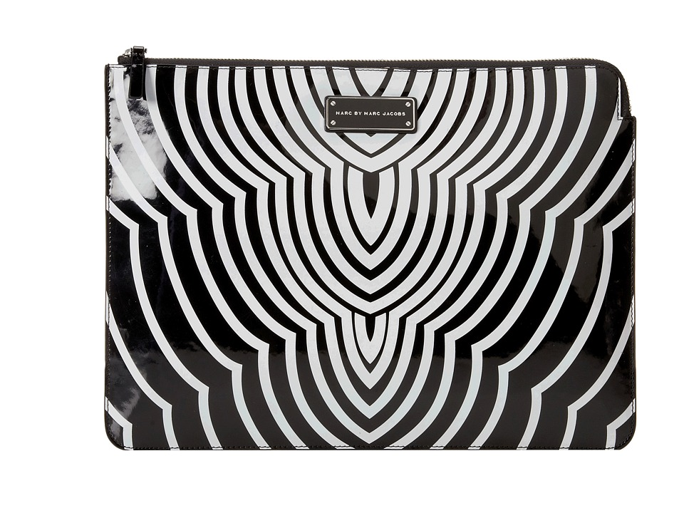 Marc by Marc Jacobs - Techno Radiowave 13 Zip Case (Black Multi) Computer Bags