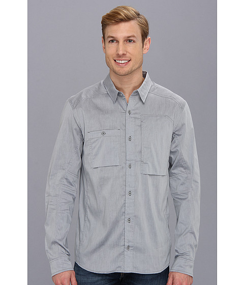 Arc'teryx - A2B LS Shirt (Carrera Grey) Men's Long Sleeve Button Up